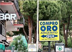 Compro «ORO» qui a Roma , signori ladri :))