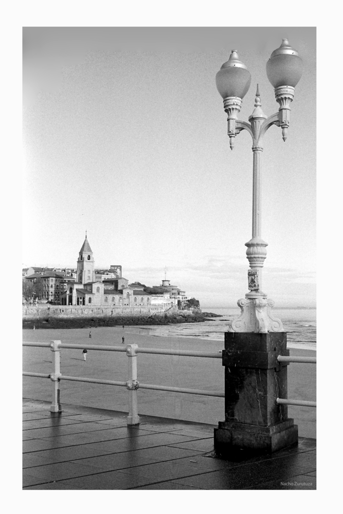 Con la Leica por Gijón 2
