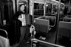 Concert dans le métro