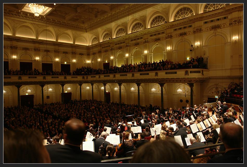 Concertgebouw innen