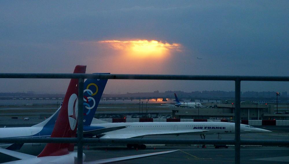 Concorde am New Yorker Flughafen