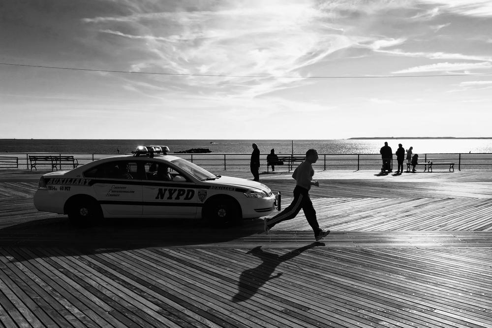 Coney Island Boardwalk Jogging