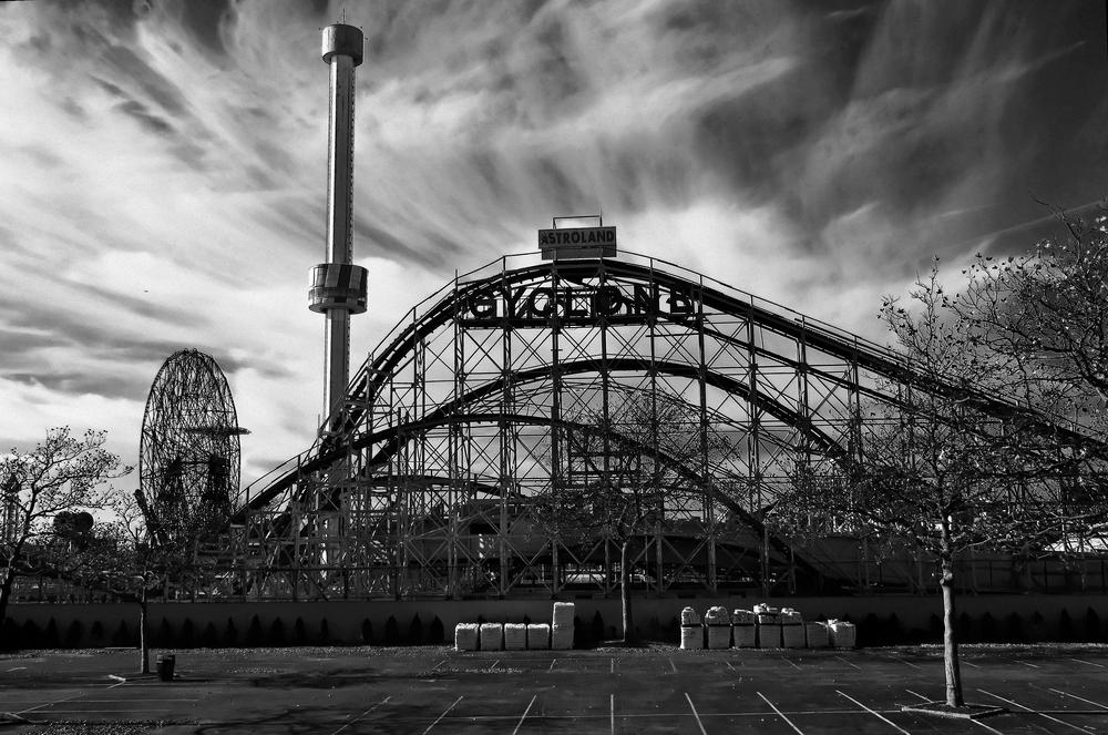 Coney Island Cyclone Roller Coaster