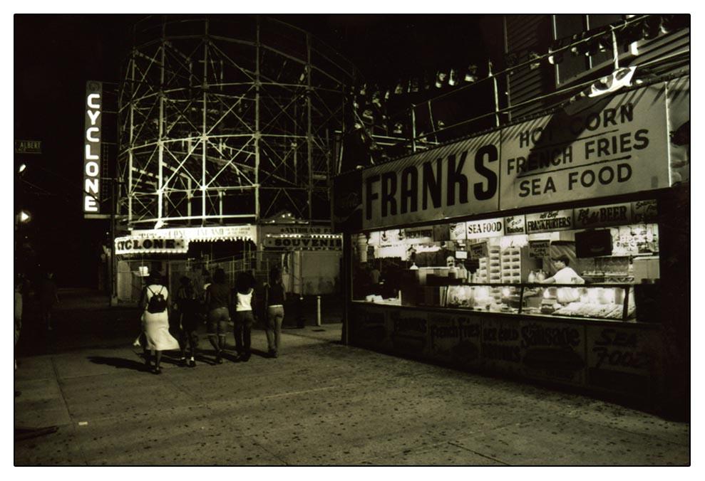 Coney Island Night