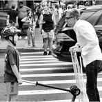 Confrontation in Chelsea - A New York Moment