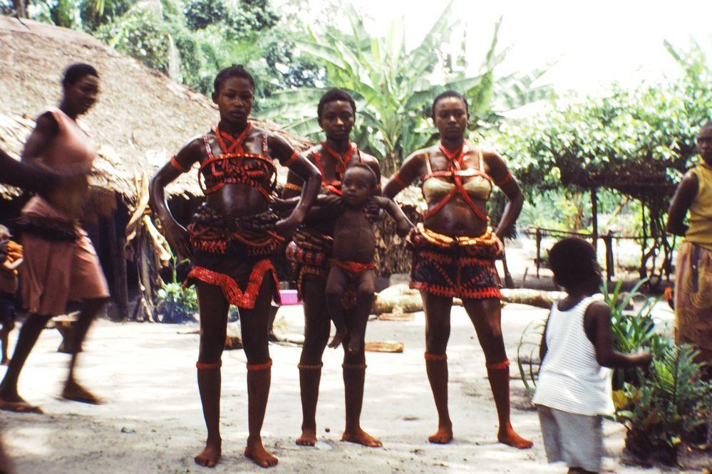 congo / zaïre 1981, 1987-1988