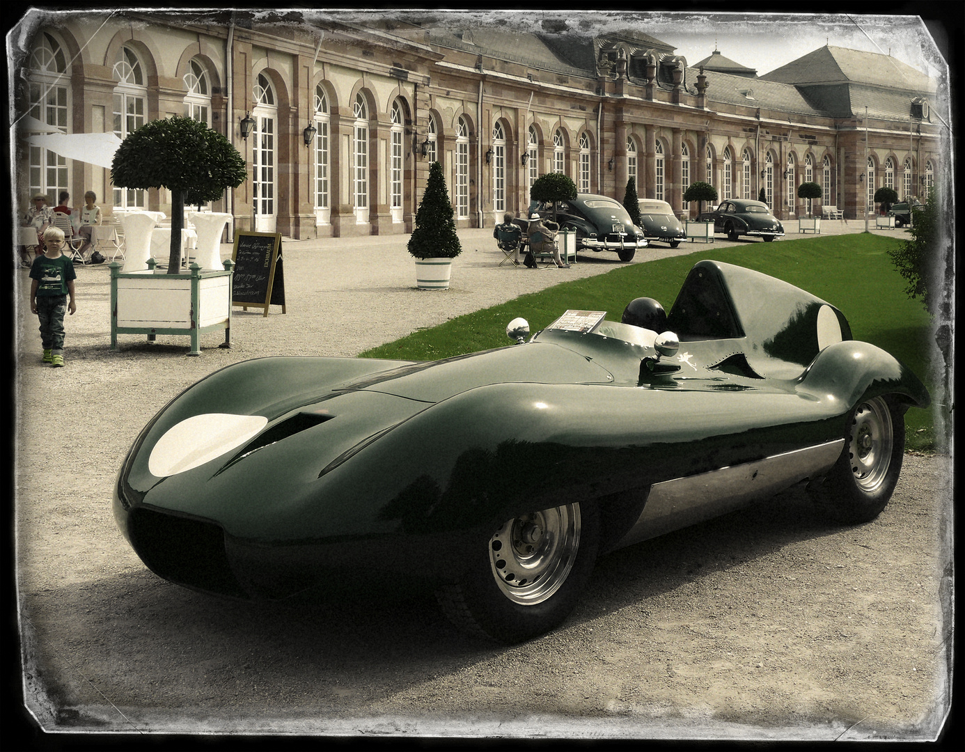 Connaught B-Type Streamliner !