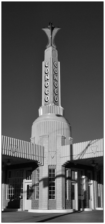 Conoco Tower - Shamrock, Texas