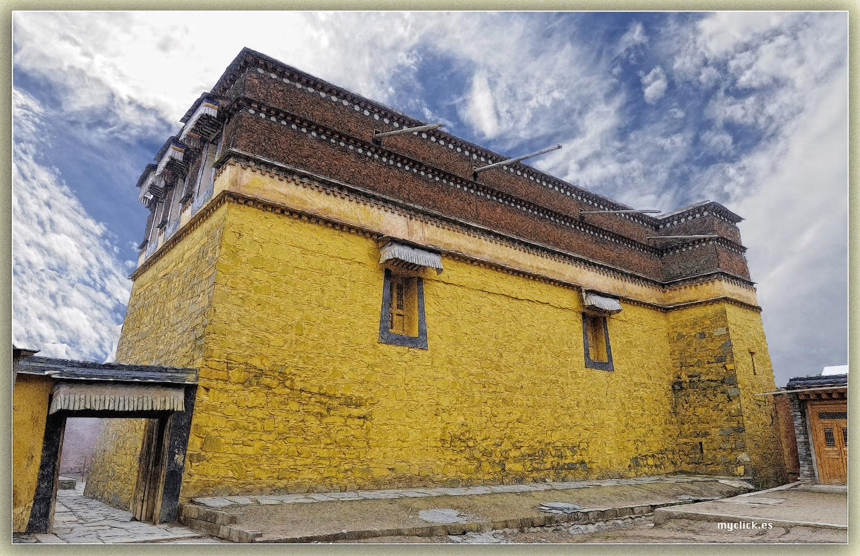 CONSTRUCCIONES DEL M DE LABRANG-XIAE-CHINA