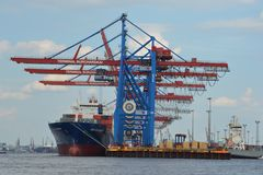 Container Hafen Hamburg 1