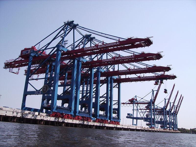 Container-Hafen Hamburg