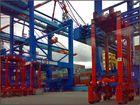 Container handling [ @ Port of Bremerhaven ]