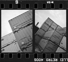 Container im Halbformat