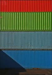 * Container-Kunst *