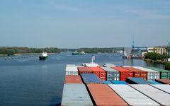 Container-Nahverkehr
