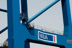 Containerbrücke am Containerterminal Tollerort Hamburg