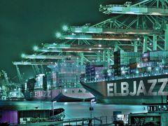 Containerhafen - Hamburg