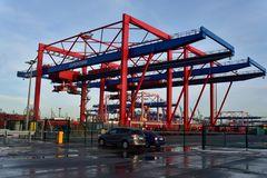 Containerladebrücke #4