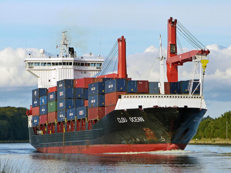 Schiffe Auf Der Ostsee