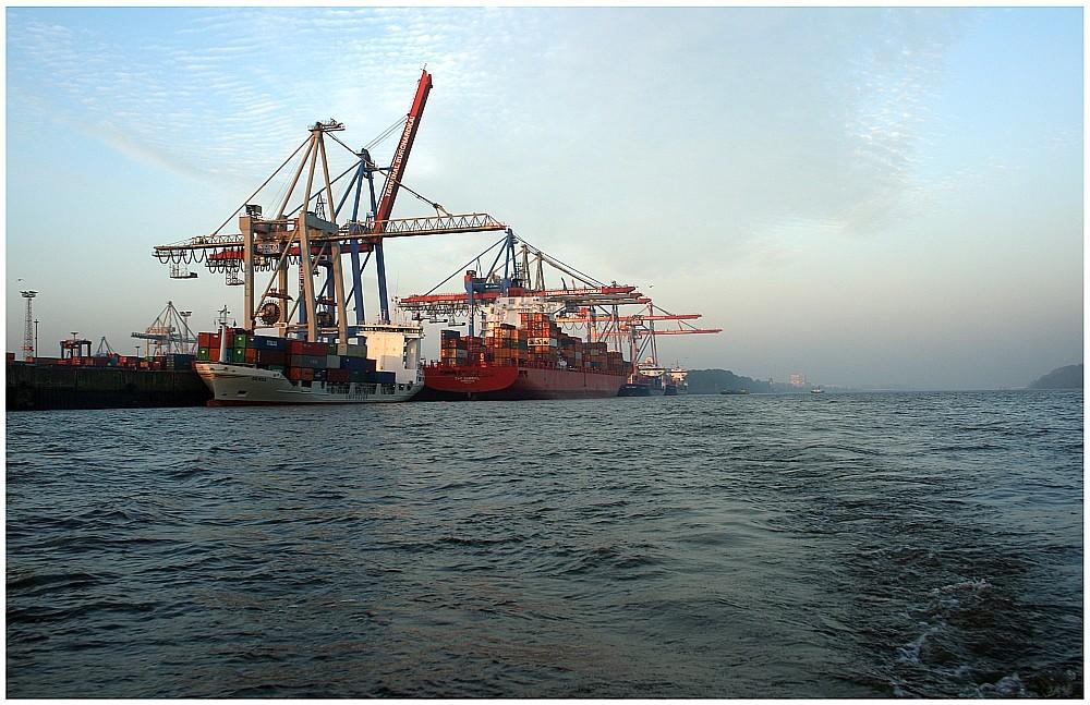 Containerterminal Burchardkai 08:06