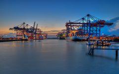Containerterminal Burchardkai und Eurogate
