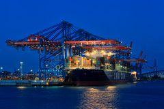 Containerterminal - Hafen Hamburg