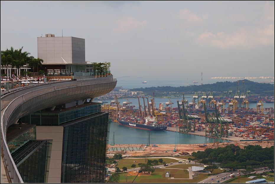 Containerterminal in Singapore