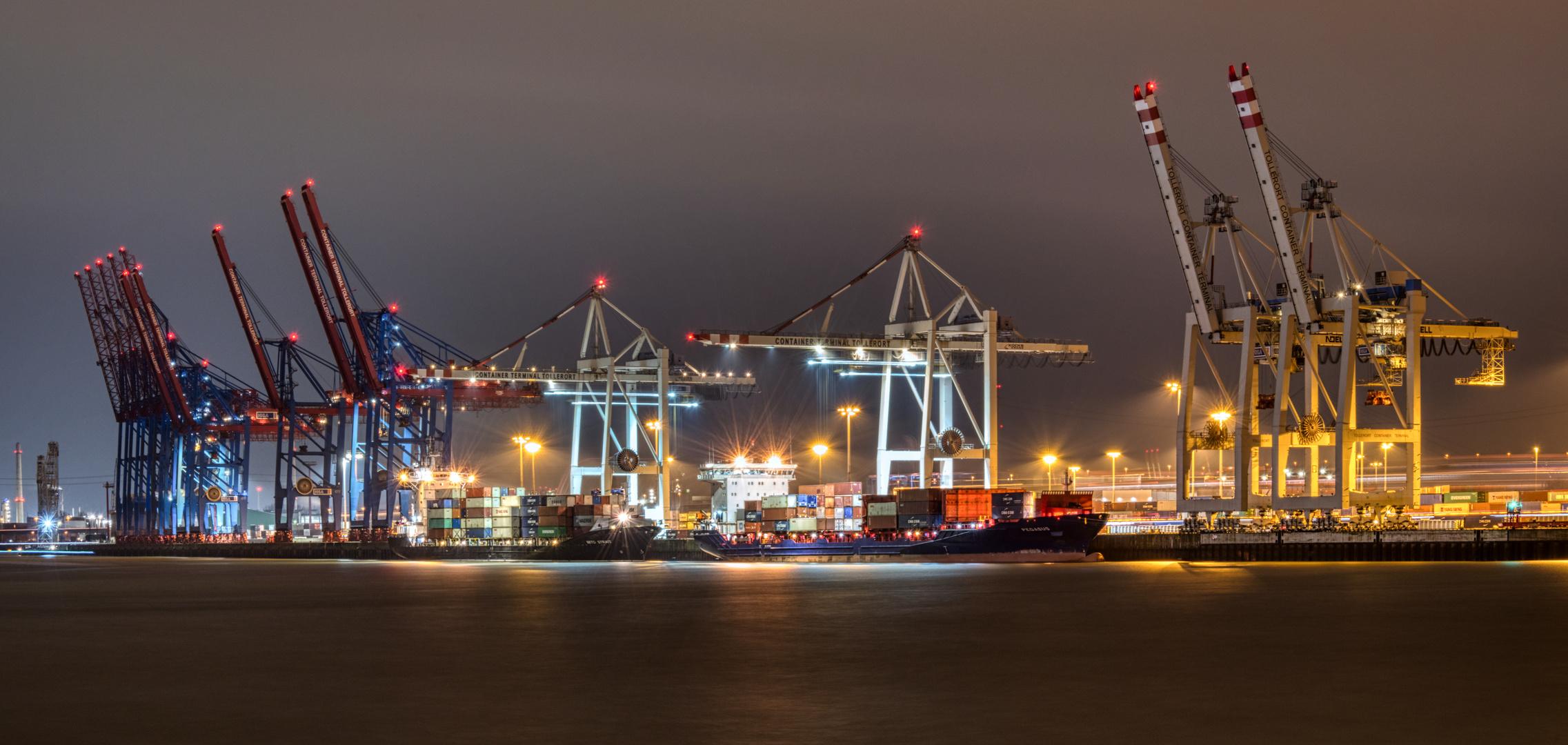 Containerterminal Tollerort Hamburg