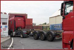 Contargo - Ladefläche für Containertransport