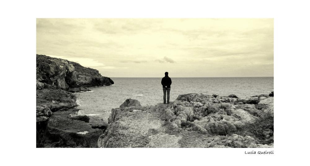 contemplando l'orizzonte....