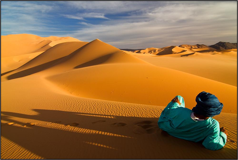 Contempler les dunes