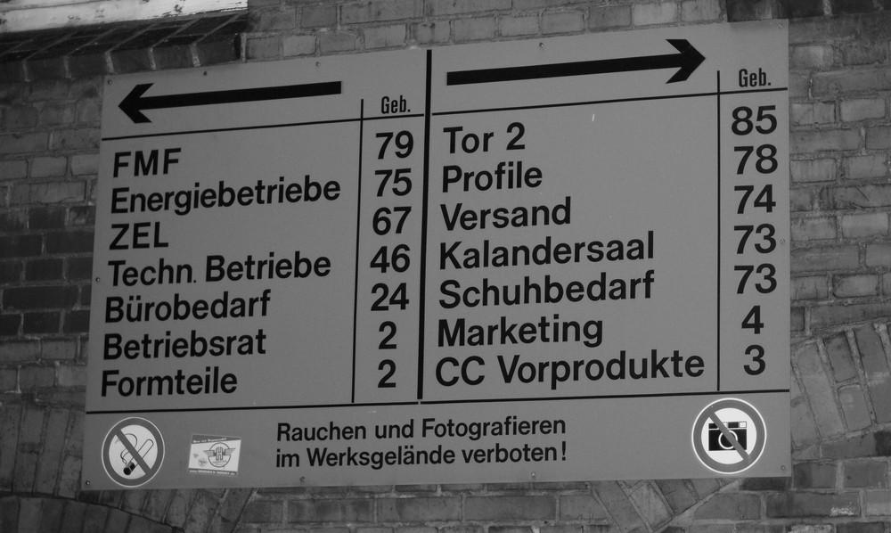 Conti Limmer - Fotografieren verboten!