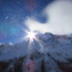 ..Contre-jour et avec le Froid et vent, objectif cristalisé..