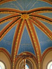 Convento di San Francesco di Susa - Deckenbemalung Altarraum