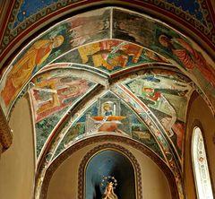 Convento di San Francesco di Susa - Deckenfresko/Evangelisten