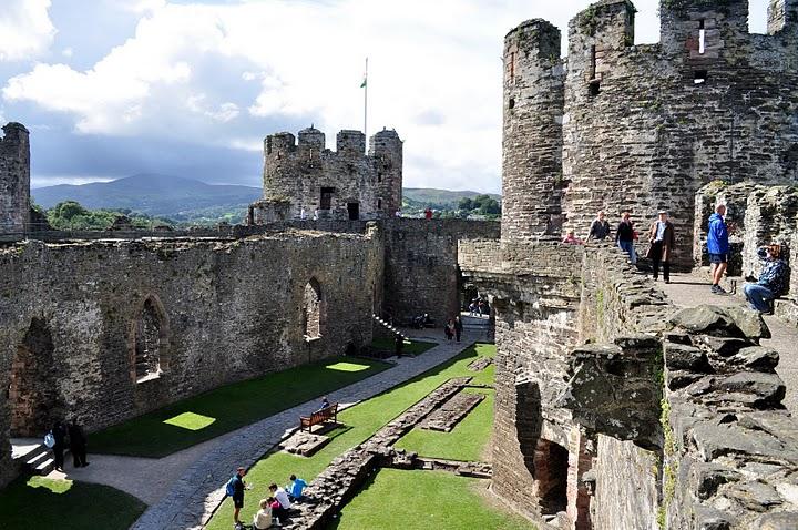 Convy Castle Wales