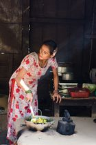 Cooking for Dasai Festival