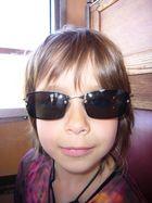 Cool mit Sonnenbrille