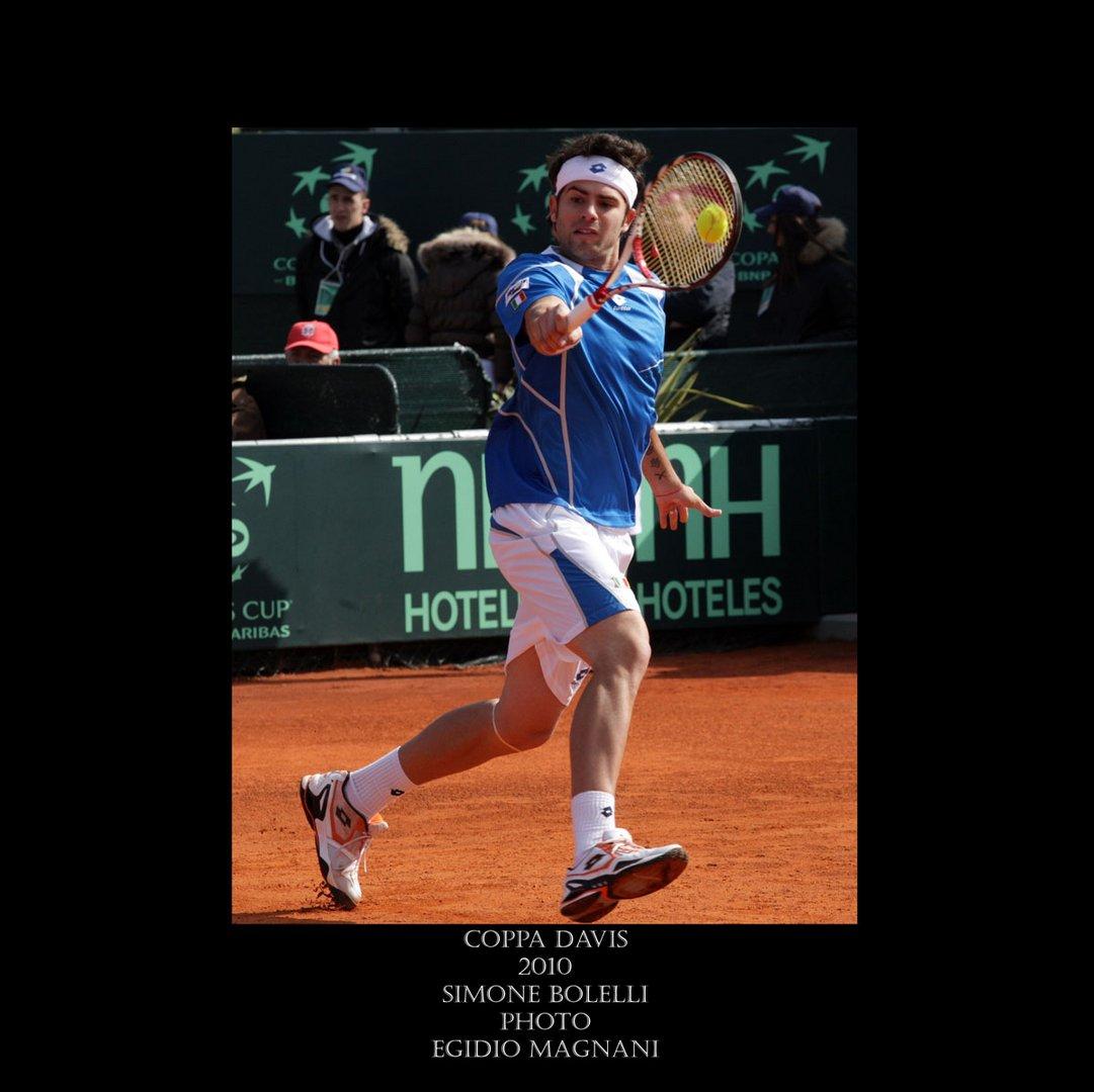 Coppa Davis 2010 - Simone Bolelli