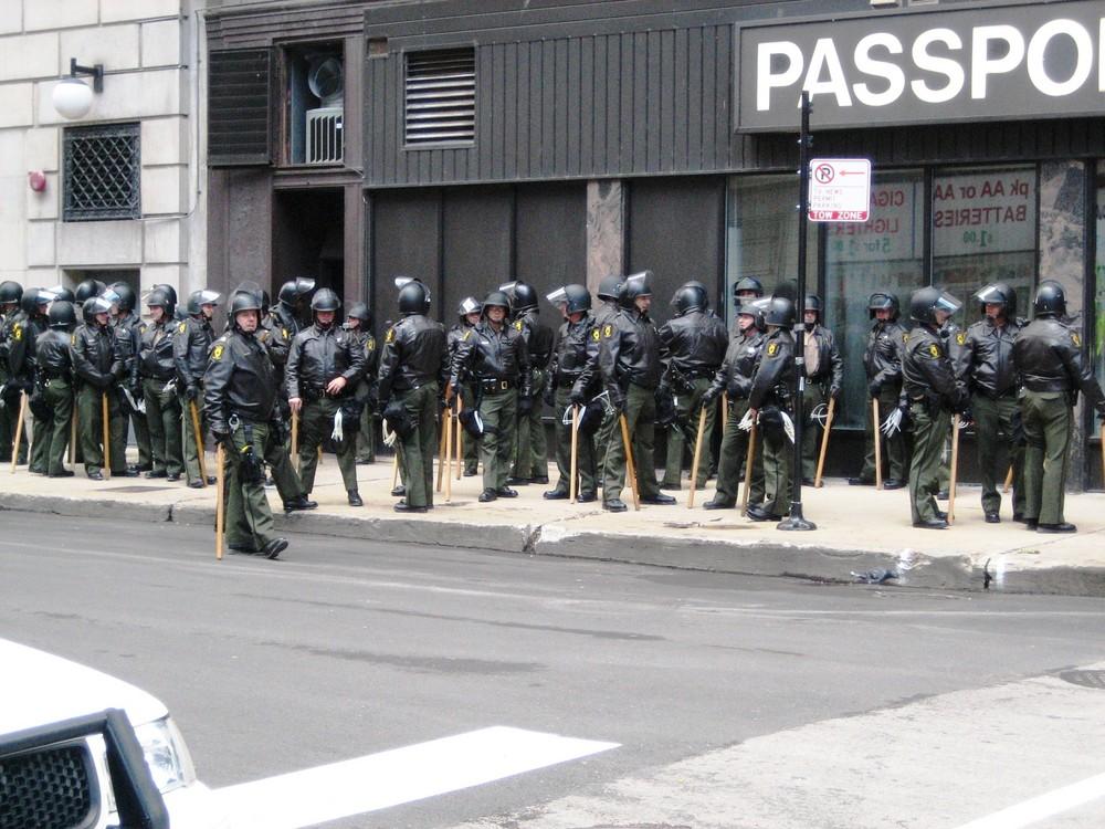 Cops in Chicago