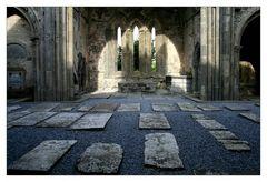 Corcomroe Abbey Innenansicht...