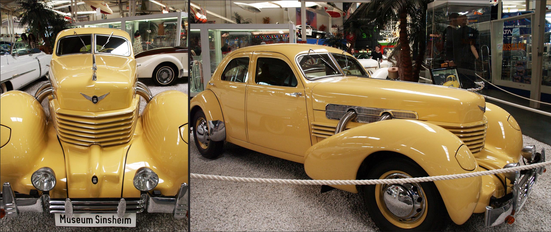 Cord 812   --  1937      V8  4.7 L  170 Cv