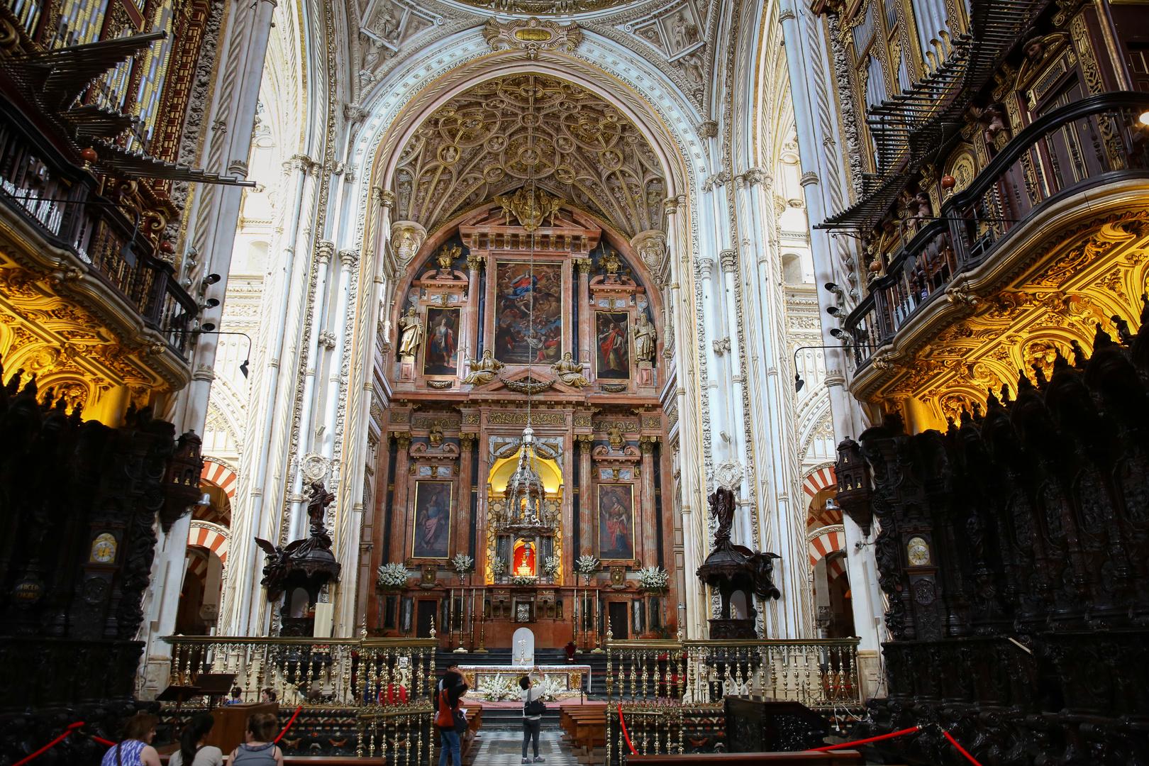 Cordoba, Mezquita, christlicher Altar