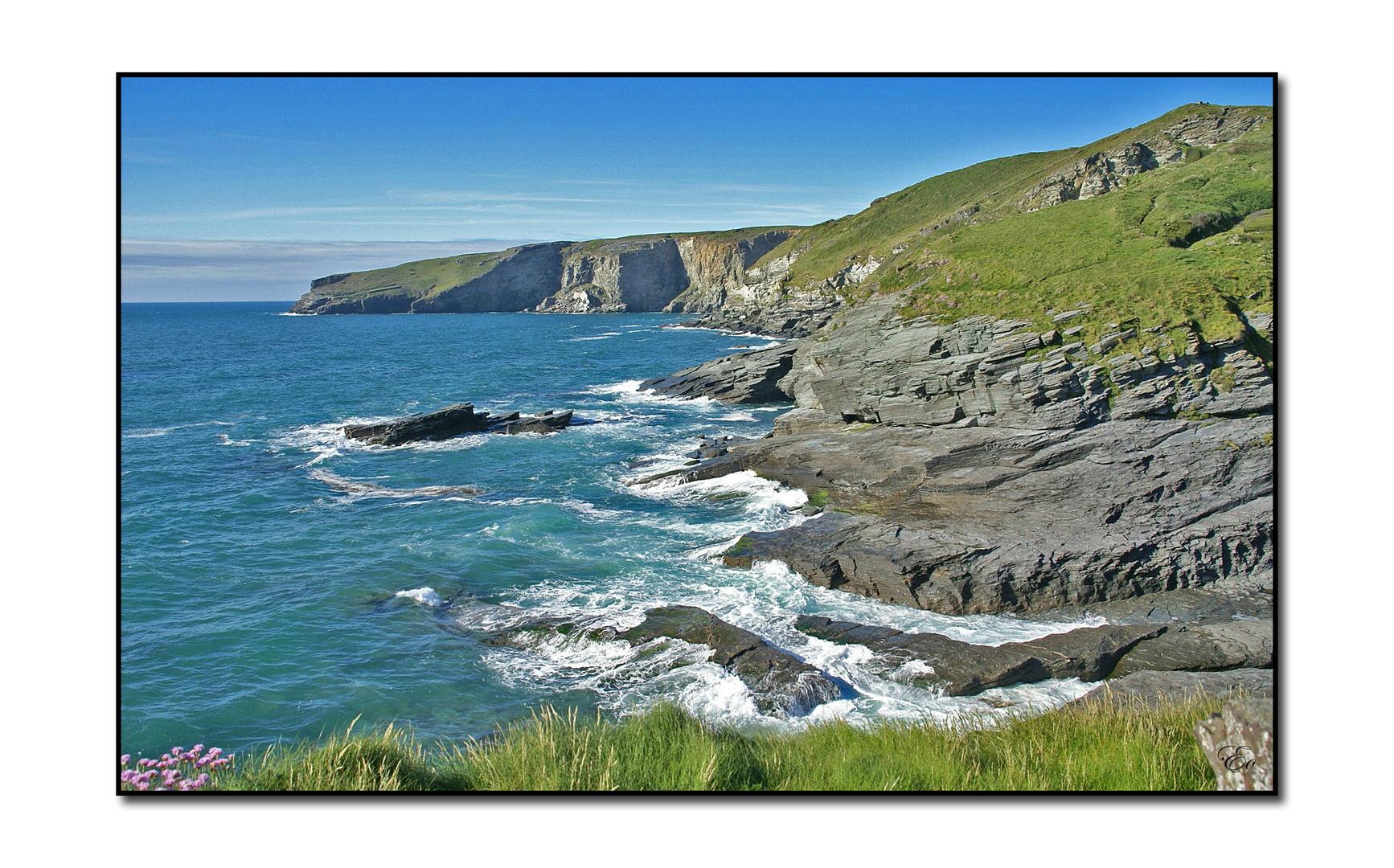 Cornwall I - Landschaft um Tintagel (Trebarwith)