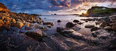 Cornwall - Priest Cove Panorama