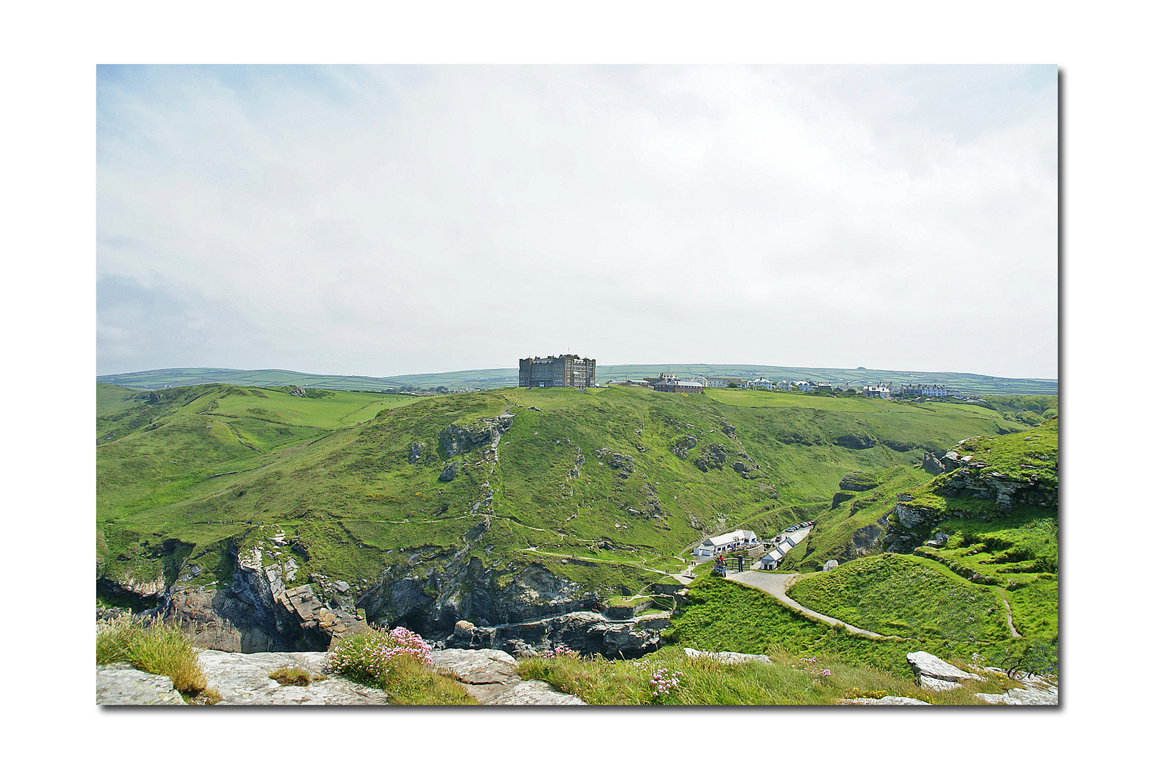 Cornwall VI - Landschaft um Tintagel