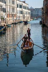 Coronakonform durch Venedigs Kanäle
