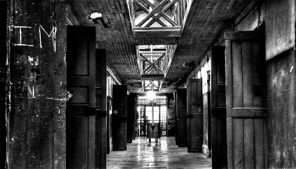 """""""Corridoio di carcere"""" di Luigi Boeris"""