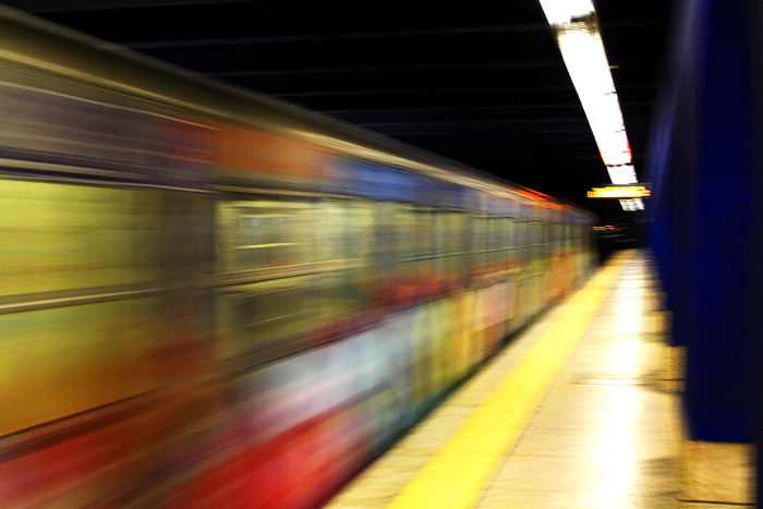 Corsa in metropolitana