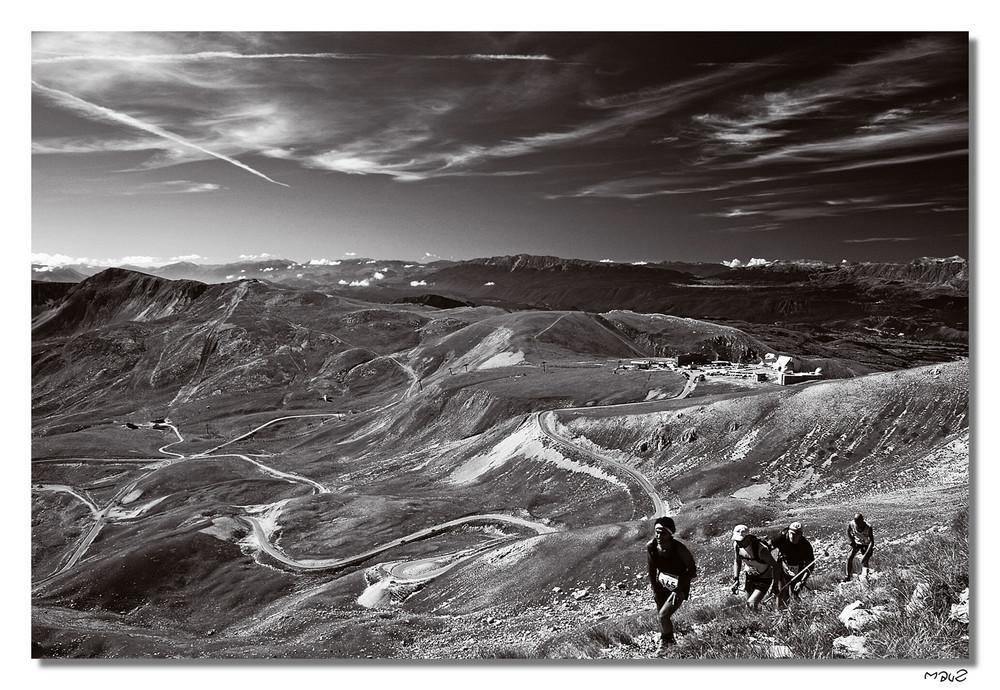 .. Corsa in montagna..